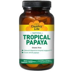 Country LifeTropical Papaya Chewable