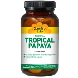 Country Life Tropical Papaya Chewable