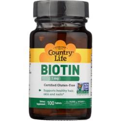 Country Life High Potency Biotin