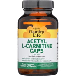 Country LifeAcetyl L-Carnitine Caps