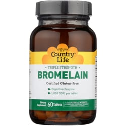 Country Life Triple Strength Bromelain