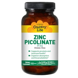 Country LifeZinc Picolinate