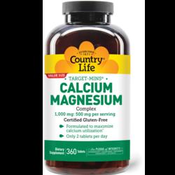 Country Life Target-Mins Calcium Magnesium Complex