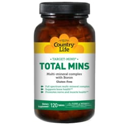 Country Life TARGET-MINS Total Mins