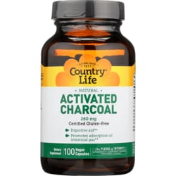 Country LifeActivated Charcoal