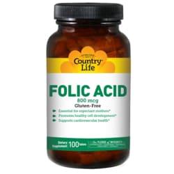 Country Life Folic Acid