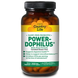 Country LifePower-Dophilus Dairy-Free Probiotic