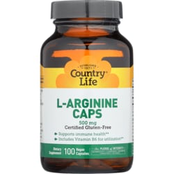 Country LifeL-Arginine Caps