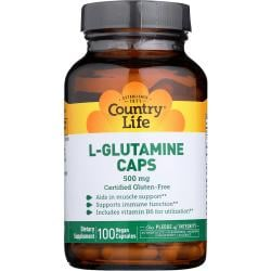 Country LifeL-Glutamine Caps