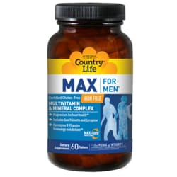 Country LifeMax For Men Multivitamin & Mineral Complex - IronFree