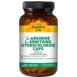Country LifeL-Arginine L-Ornithine Caps