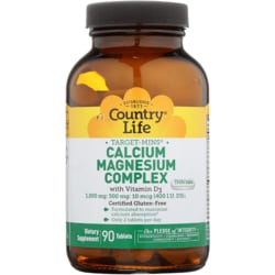 Country LifeTarget-Mins Calcium Magnesium Complex with Vitamin D3