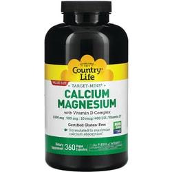 Country Life Target-Mins Calcium-Magnesium