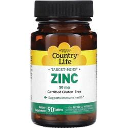 Country Life Target-Mins Zinc