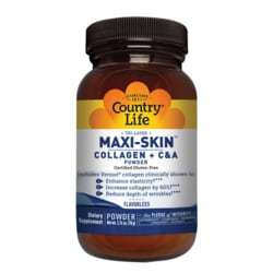 Country LifeMaxi-Skin Collagen + C & A Powder