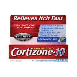 CortizoneMaximum Strength Cortizone 10 Creme