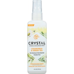 Crystal Body Deodorant Spray Chamomile & Green Tea
