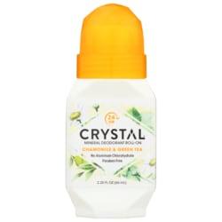 Crystal Roll-On Deodorant Chamomile & Green Tea