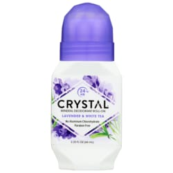 CrystalRoll-On Deodorant Lavender & White Tea