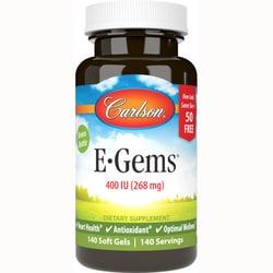 Carlson E-Gems - Natural Vitamin E