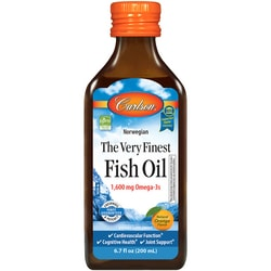 Carlson The Very Finest Fish Oil Omega-3 Orange