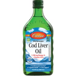 Carlson Norwegian Cod Liver Oil - Unflavored