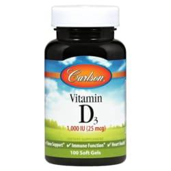 Carlson Vitamin D3