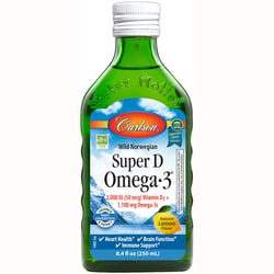 CarlsonNorwegian Super D Omega-3 - Natural Lemon Flavor