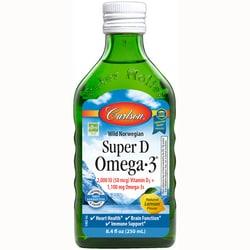 Carlson Super D Omega-3 - Lemon Flavor