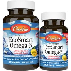 Carlson EcoSmart™ Omega-3 Lemon Flavored