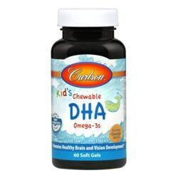 CarlsonKid's Chewable DHA Omega-3s - Bursting Orange