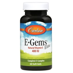 CarlsonE-Gems Elite - Natural Vitamin E