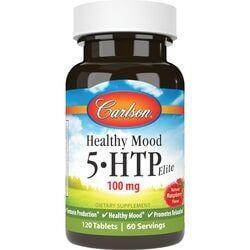 CarlsonHealthy Mood 5-HTP Elite - Raspberry Flavor