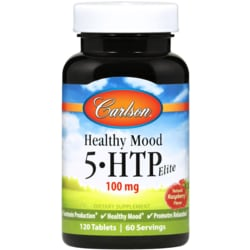 Carlson Healthy Mood 5-HTP Elite - Raspberry Flavor