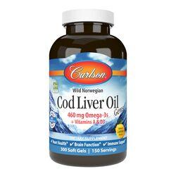 CarlsonCod Liver Oil Gems - Natural Lemon