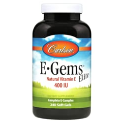 Carlson E-Gems Elite - Natural Vitamin E