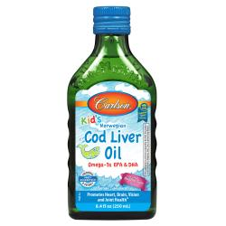 CarlsonKid's Norwegian Cod Liver Oil - Bubble Gum