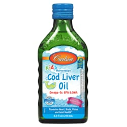 Carlson Kid's Norwegian Cod Liver Oil - Bubble Gum