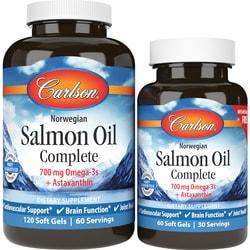 CarlsonNorwegian Salmon Oil Complete