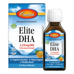 CarlsonElite DHA - Natural Orange