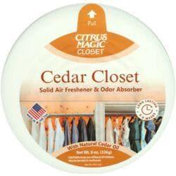 Citrus MagicCedar Magic Solid Air Freshener with Natural Cedar Oil