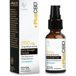 CV SciencesPlus+ CBD Oil Drops Gold Formula - Peppermint