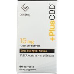 CV SciencesPlus+ CBD Oil Gold Formula