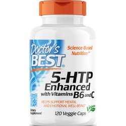 Doctor's Best5-HTP Enhanced with Vitamins B6 and C