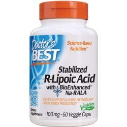 Doctor's BestStabilized R-Lipoic Acid with BioEnhanced Na-RALA