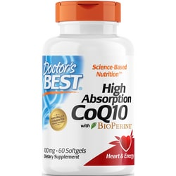 Doctor's Best High Absorption CoQ10