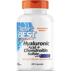 Doctor's BestHyaluronic Acid + Chondroitin Sulfate with BioCell Collagen