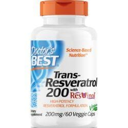 Doctor's BestTrans-Resveratrol 200 with ResVinol