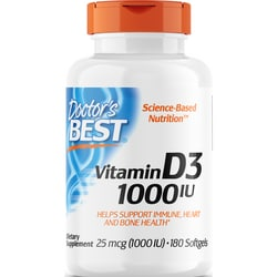 Doctor's Best Best Vitamin D3 1000 IU