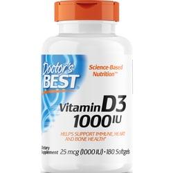Doctor's Best Best Vitamin D3 1000 IU